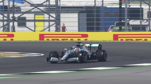 Bottas denies team-mate Hamilton pole at Silverstone