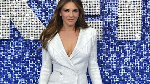Elizabeth Hurley claims she and the Queen have the same stalker
