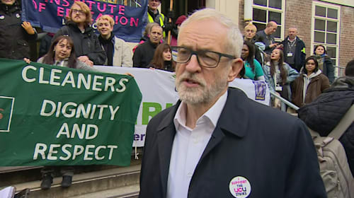 Jeremy Corbyn calls out 'UK's five worst employers'