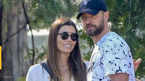Justin Timberlake makes public apology to wife Jessica Biel and family for holding hands with co-star