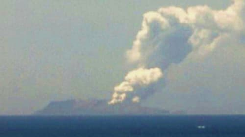 One killed after New Zealand volcano erupts on island