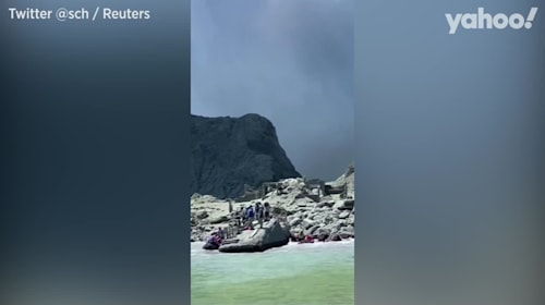 Five dead as volcano erupts in New Zealand