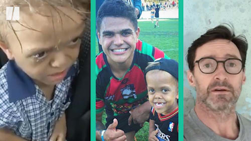 Bullied Australian boy has 'best day of his life' as he leads out rugby team, mom says