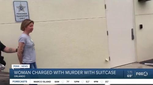 Woman accused of zipping boyfriend in suitcase, leaving him to die