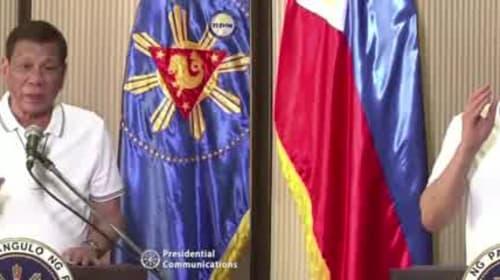 Philippine leader says won't tolerate lockdown violators