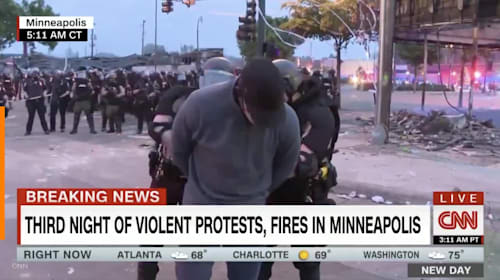 Police arrest CNN reporter during live broadcast of Minneapolis riots