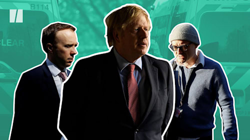 Support for Johnson's Conservatives falls as Covid deaths rise