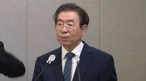 Seoul mayor reported missing, police searching