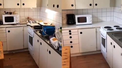 TikToker goes viral for cleaning strangers' homes for free