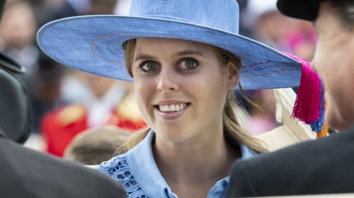 Princess Beatrice's original name was 'vetoed by the Queen'
