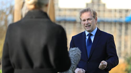 Grant Shapps slapped down after saying Brits should 'only shop once a week'