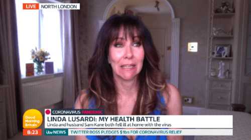 Linda Lusardi: NHS helpline kept telling me I didn't have coronavirus