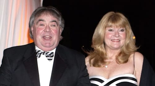 Eddie Large's widow recalls his final words to her