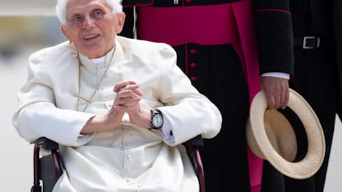 Retired Pope Benedict 'ill after visit to Germany'