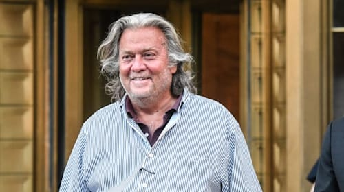 Trump pardons ex-aide Bannon but not himself or family