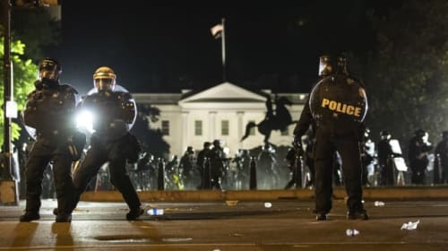 Trump took shelter in White House bunker as protests raged