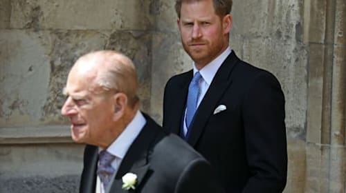 Prince Philip 'warned Harry about marrying Meghan'
