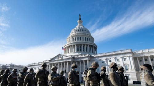 Troops vetted amid fears of insider attack at Joe Biden inauguration