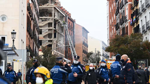 Two killed in Madrid explosion