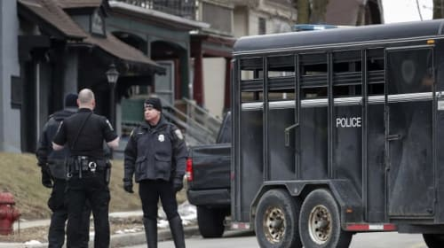 Gunman kills five at US brewing giant