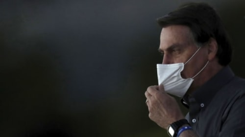 Brazilian President Bolsonaro says he has 'mould' in lungs
