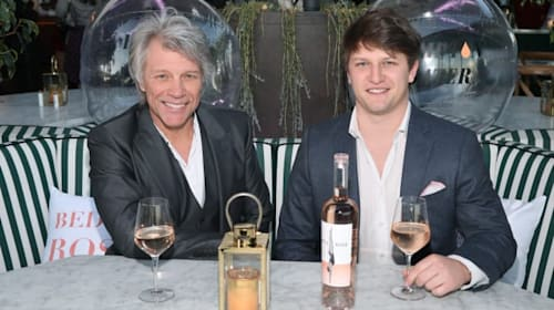 Jon Bon Jovi and son, Jesse, have created the rosé of the summer