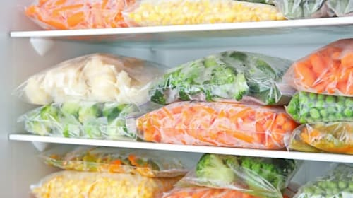 Four tips for eating well out of your freezer