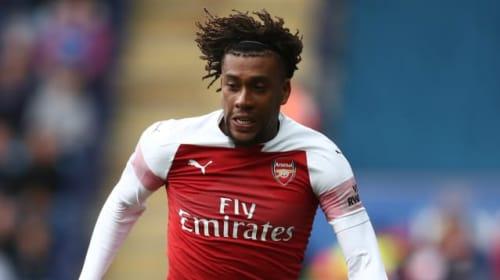 Fake news! Iwobi criticises reports of Zaha to Arsenal concerns