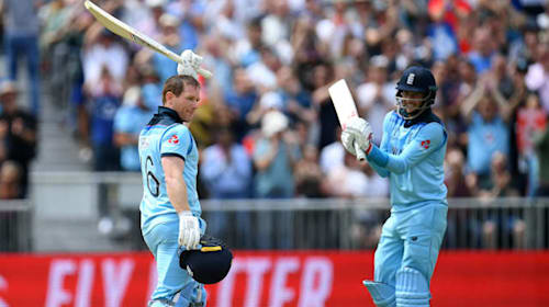 Morgan hits record 17 sixes as England trounce Afghanistan