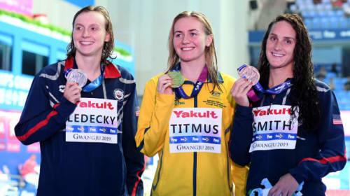 Titmus dethrones Ledecky to take 400m freestyle gold