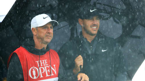 He guided me on all 68 shots - Koepka taps into caddie's Portrush knowledge