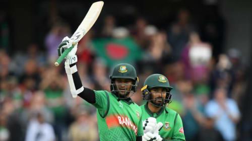 Super Shakib inspires Bangladesh to thumping win over Windies