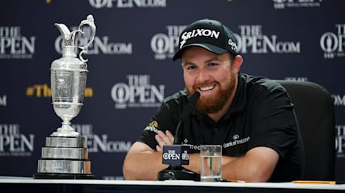 I cried in Carnoustie car park - Open champion Lowry reflects on stunning turnaround