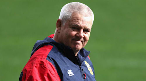 BREAKING NEWS: Gatland to lead Lions for third time in South Africa