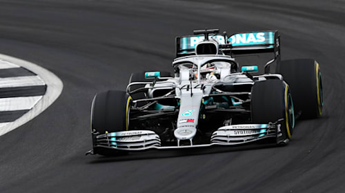 Hamilton & Bottas set the pace as Grosjean suffers bizarre Silverstone crash