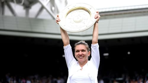Wimbledon diary: Halep welcomes royal approval, Pimm's o'clock for Philippoussis