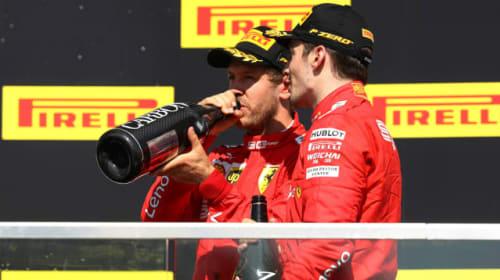 Ferrari 'forgot' to tell Leclerc about Vettel's penalty