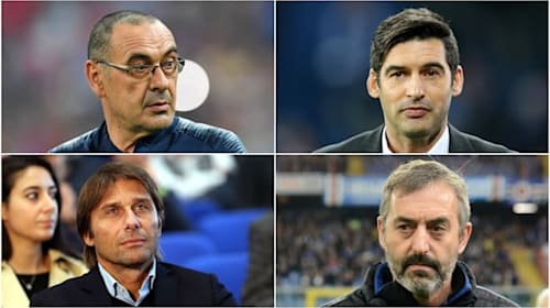 All change in Serie A: The task awaiting Sarri, Conte, Giampaolo and Fonseca