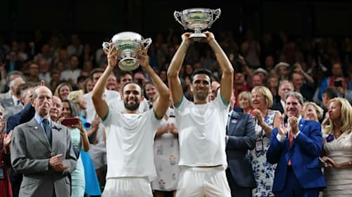Cabal and Farah prevail in emotional five-hour Wimbledon doubles epic