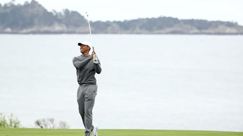 Tiger closes out day three with birdie to finish even par