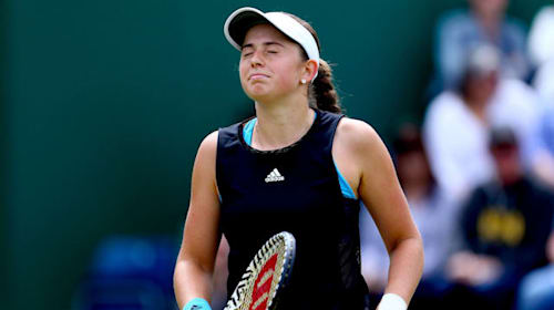 Ostapenko thrashed on home soil by Pera