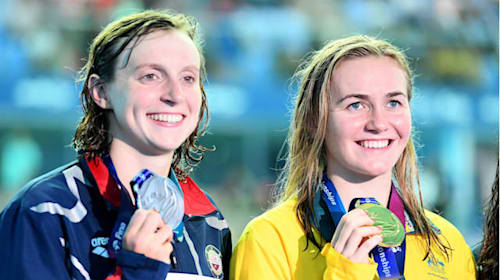 Titmus pips Ledecky to world title, Peaty sets record and Sun sees off Horton