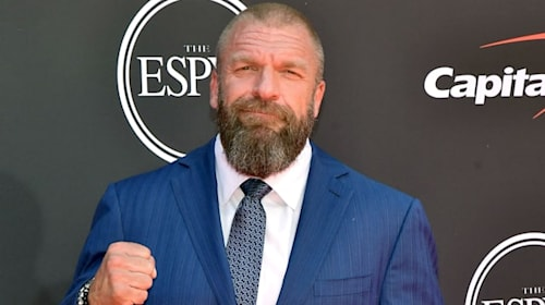 Triple H honours England's World Cup winners with WWE title belt - but who gets to keep it?