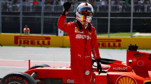 Vettel tops Hamilton for stunning Canada pole