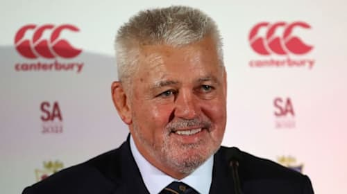 Gatland hungry to settle 'unfinished business' for Lions in South Africa