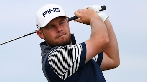 Hatton joins Holmes at top of Open leaderboard