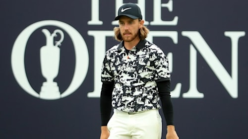 Tommy Fleetwood's jazzy Portrush shirt divides opinion on social media