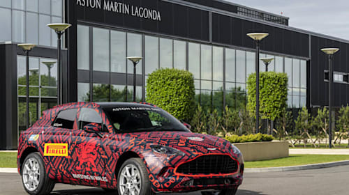 First Aston Martins roll off production line in Wales