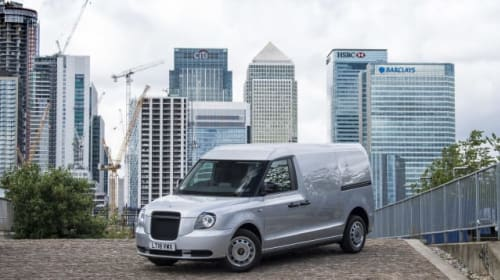 LEVC reveals plug-in hybrid van based on London taxi