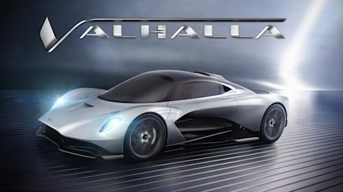 Aston Martin's newest hypercar will be called Valhalla